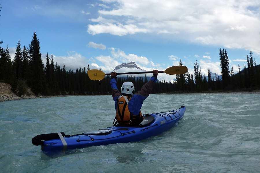Balancing a kayak