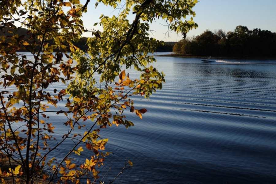 Okmulgee Lake-Boat