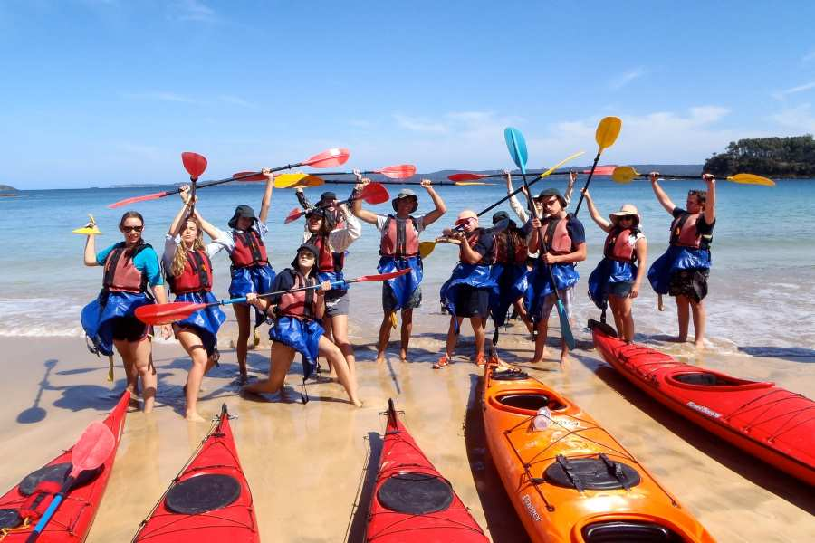 Sea Kayaking in groups