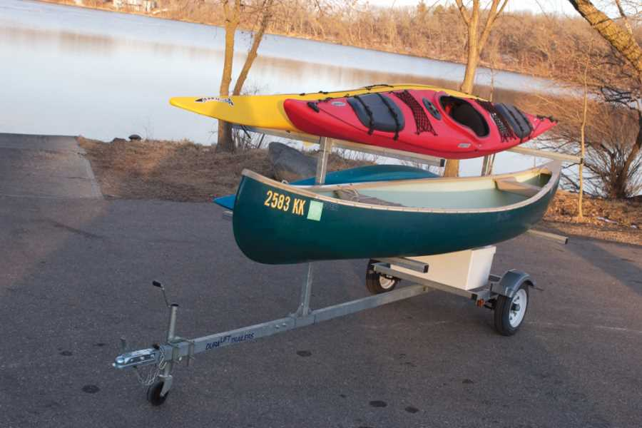 Canoe and Kayak trailer