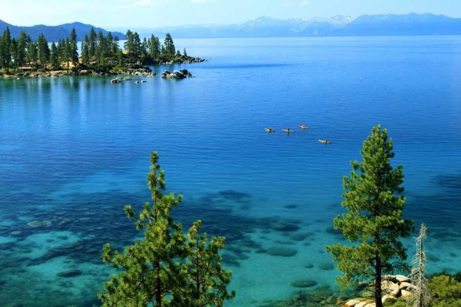 Lake Tahoe - emerald water