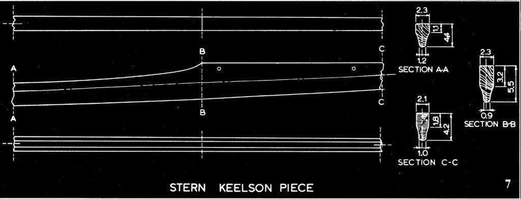 Stern Keelson Piece - Iqyax