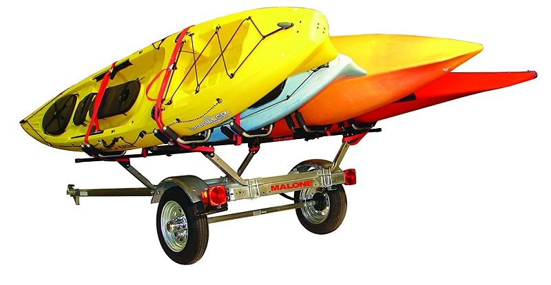 Kayak Trailer - 4 racks