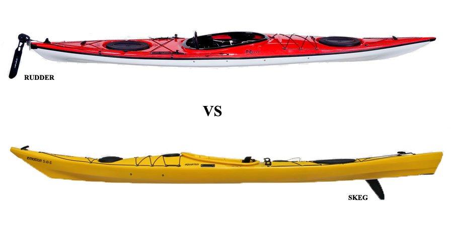 Rudder vs Skeg - Kayak